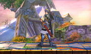 Burla lateral Lucina SSB4 (3DS)