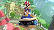 Créditos Modo Leyendas de la lucha Mario SSB4 (Wii U)