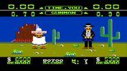 Dos tiradores en Wild Gunman
