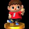 Trofeo de Aldeano SSB4 (3DS)