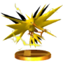 Trofeo de Zapdos SSB4 (3DS)