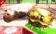 Bowser oculto en su caparazón SSB4 (3DS)