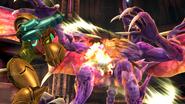 Créditos Modo Senda del guerrero Samus SSB4 (Wii U)