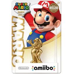 Embalaje del amiibo de Mario dorado (serie Mario)