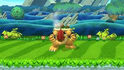 Pose de espera de Bowser (2-2) SSB4 (Wii U)