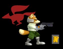 Pose de victoria Fox Y (1) SSBM