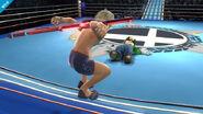 Shulk y Luigi en el Cuadrilatero SSB4 (Wii U