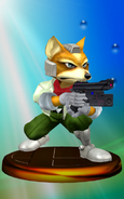 Trofeo de Fox McCloud (Smash 1) SSBM