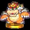 Trofeo de Paper Bowser (segunda forma) SSB4 (3DS)
