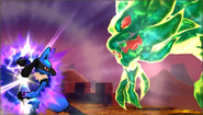 Créditos Modo Leyendas de la lucha Lucario SSB4 (3DS)