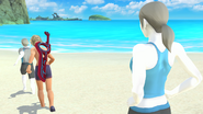 Créditos Modo Senda del guerrero Entrenadora de Wii Fit SSB4 (Wii U)