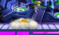 Lanzamiento trasero Pikachu SSB4 (3DS)