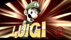 Pose de victoria 2 (3) Luigi SSB4 (Wii U)