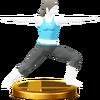 Trofeo de El guerrero SSB4 (Wii U)