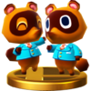 Trofeo de Tendo y Nendo SSB4 (Wii U)