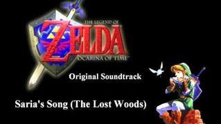 Zelda Original Soundtrack - Saria's Song (The Lost Woods)