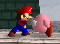 Agarre de Mario SSB
