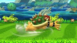 Ataque de recuperación de cara al suelo de Bowser (2) SSB4 (Wii U)