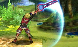 Ataque normal Shulk (3) SSB4 (3DS)
