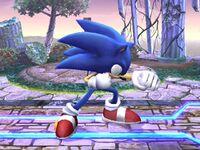 Ataque normal Sonic SSBB (1)