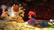 Créditos Modo Senda del guerrero Bowser SSB4 (Wii U)