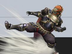 Ganondorf Ataque Smash hacia abajo 2