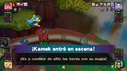 Kamek en el tablero de Mundo Smash SSB4 (Wii U)
