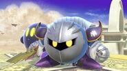 Meta Knight y Kirby en el Reino del Cielo SSBU