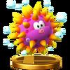 Trofeo de Erizón SSB4 (Wii U)
