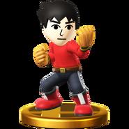 Trofeo de Karateka Mii SSB4 (Wii U)