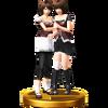 Trofeo de Mio y Mayu Amakura SSB4 (Wii U)