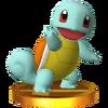 Trofeo de Squirtle SSB4 (3DS)