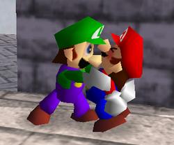 Agarre de Luigi SSB