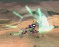 Prímido espadachín atacando (7) ESE SSBB