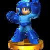 Trofeo de Mega Man SSB4 (3DS)