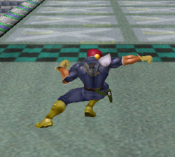 Ataque normal de Captain Falcon (4) SSBM