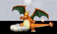 Burla hacia abajo de Charizard (2) SSB4 (3DS)