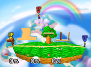 Escenario Beta de Kirby No. 2 SSB