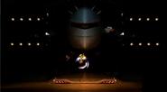 Kirby usando Martillo en el aire BETA SSBB