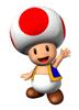 Pegatina de Toad Mario Party 7 SSBB