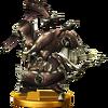 Trofeo de Cara de Bronce SSB4 (Wii U)