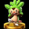 Trofeo de Chespin SSB4 (Wii U)