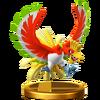 Trofeo de Ho-Oh SSB4 (Wii U)