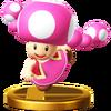 Trofeo de Toadette SSB4 (Wii U)