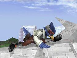 Ataque Smash Inferior Falco SSBB (2)