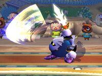Ataque fuerte lateral Meta Knight SSBB (3)