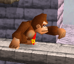 Ataque normal de Donkey Kong (1) SSB