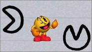 Créditos Modo Leyendas de la lucha PAC-MAN SSB4 (3DS)