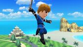 Indefensión Espadachín Mii SSB4 (Wii U)