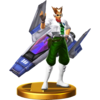 Trofeo de James McCloud SSB4 (Wii U)